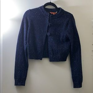 Cropped Blue Cardigan from ModCloth